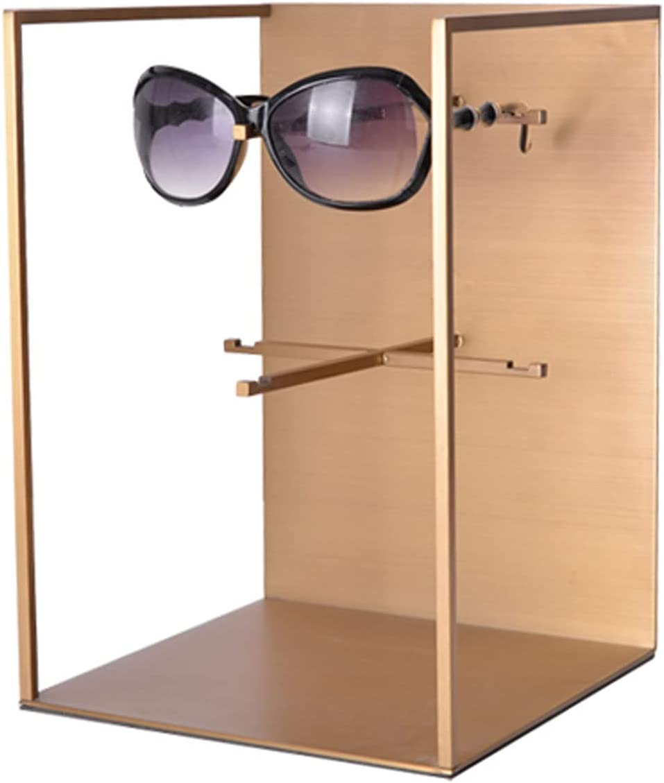 CJshop Sunglasses Rack Holder Gold Genuine Free Shipping Fr Limited time cheap sale Eyeglasses Steel Stainless