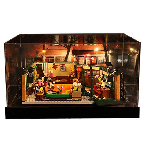 Kreative Building Block Acryl Vitrine Bausteine Staubdicht Bilderrahmen Display Rack Showcase Kompatibel mit Lego 21319 - Modell Nicht Enthalten