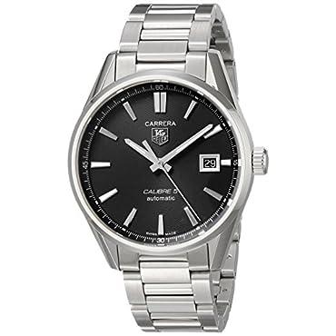 TAG Heuer Men's WAR211A.BA0782 Carrera Automatic Stainless Steel Bracelet Watch