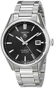 TAG Heuer Men's WAR211A.BA0782 Carrera Analog Display Swiss Automatic Silver Watch