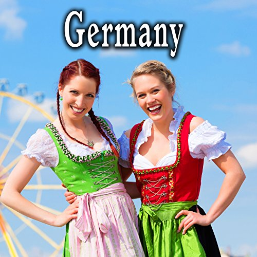Large German Restaurant Ambience with Medium Crowd, Voices, Laughter, Heavy Dishes & Chair Scrapes
