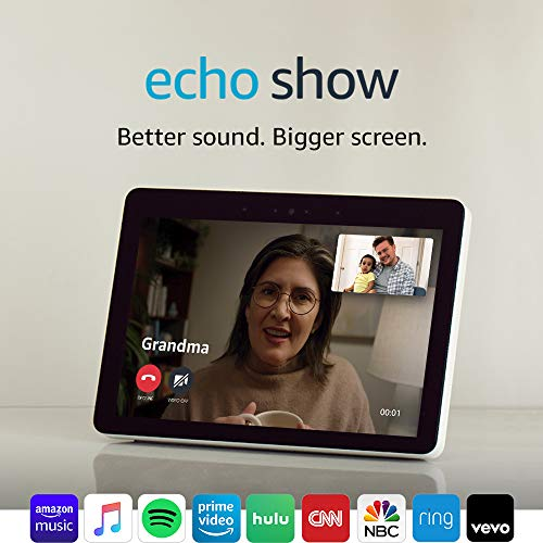 """Product Image 4: Echo Show (2nd Gen)   Premium 10.1"""" HD smart display with Alexa – stay connected with video calling – Sandstone"""