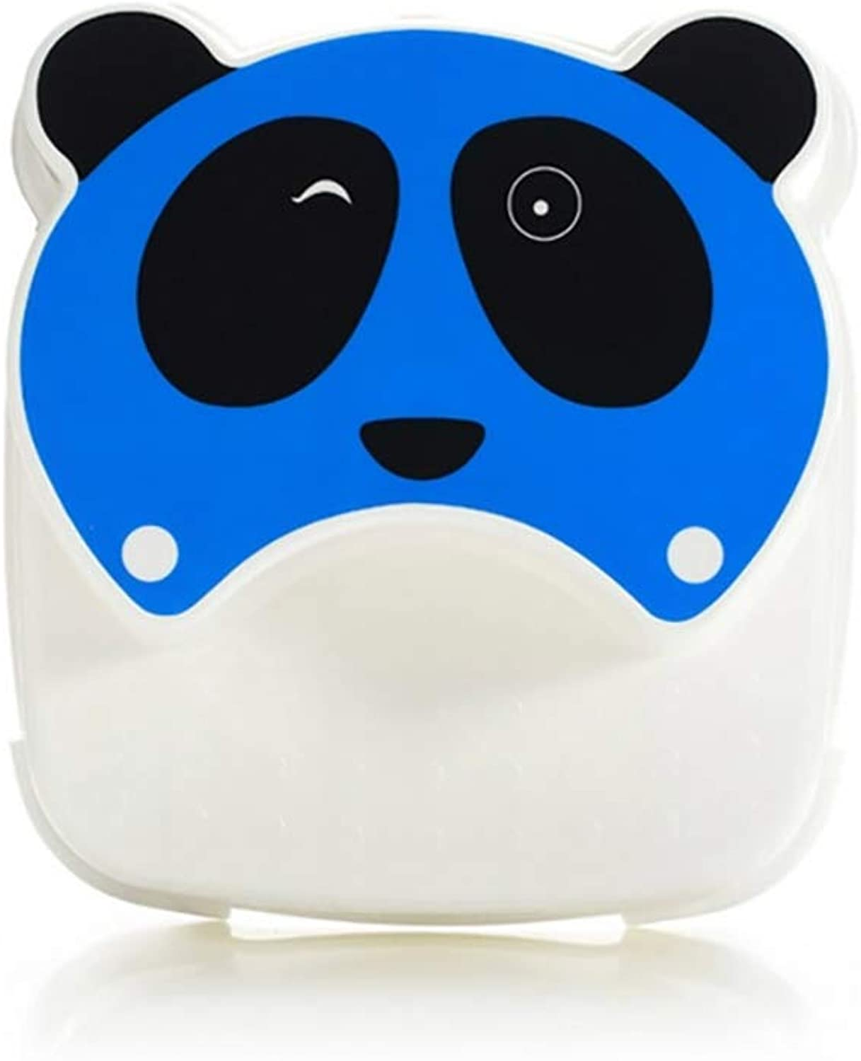 2 Step Stool for Kids, Cute Panda Multi-Function Step Ladder, Environmentally Friendly PP Material