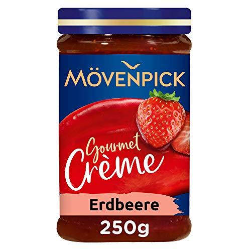 Mövenpick Gourmet-Crème Erdbeere, Fruchtaufstrich, 8er Pack (8 x 250 g)
