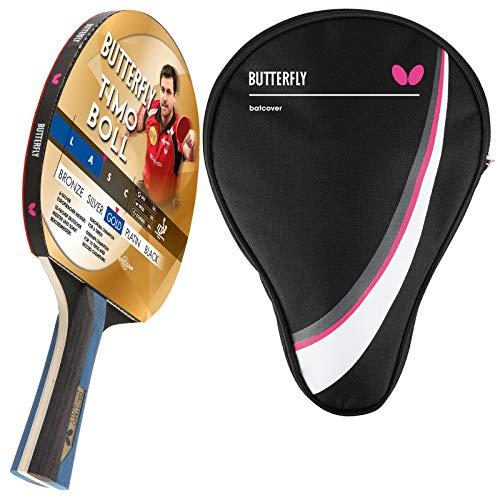 Butterfly Timo Boll Gold Tischtennisschläger + Tischtennishülle Drive Case   Tischtennisschlägerset   Tischtennis Profi Set