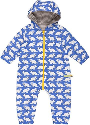loud + proud loud + proud Baby - Unisex Schneeanzug Wasserabweisender Overall, Blau (Pacific Pa), Gr. 56 (Herstellergröße: 50/56)