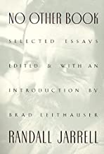 No Other Book: Selected Essays