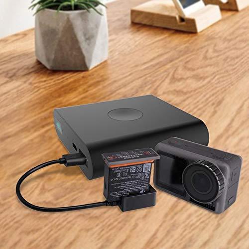 XCQ Batterieladegerät USB-Ladekabel for DJI Osmo-Action-Kamera-Zubehör-Unterstützung Power Bank Smartphone-Ladegerät langlebig 0301