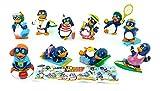Kinder Überraschung Satz Pingui Beach Figuren aus Italien