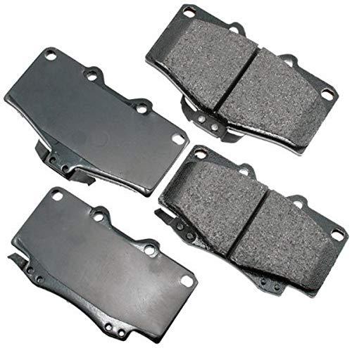 Akebono ACT436 Proact Ultra Premium Ceramic Disc Brake Pad kit, GREY