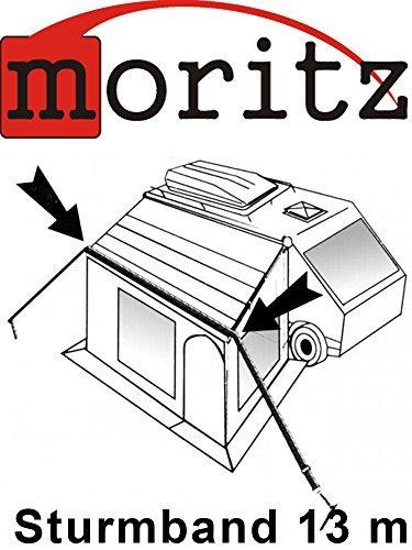 Moritz stormband 13 m stormbeveiliging spanband voor voortent luifel dakband