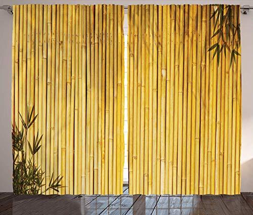 cortinas salon naturaleza