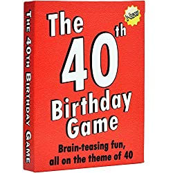 This party game makes a great time on our gift ideas for your wife's 40 birthday list.