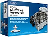 FRANZIS Ford Mustang V8-Motor |  200-Teile Bausatz - transparentes, voll funktionsfähiges...
