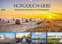 NORDDEICH-LIEBE (Wandkalender 2022 DIN A2 quer): Bezaubernde Momente vom Urlaubsparadies (Monatskalender, 14 Seiten )