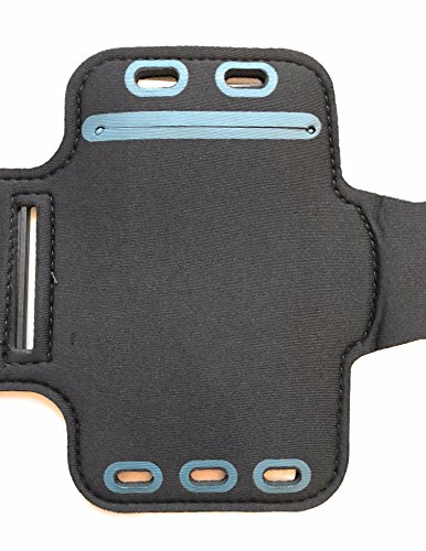 CoverKingz Sportarmband für Samsung Galaxy A50/A30s - Armtasche mit Schlüsselfach Galaxy A50/A30s - Sport Laufarmband Handy Armband Schwarz