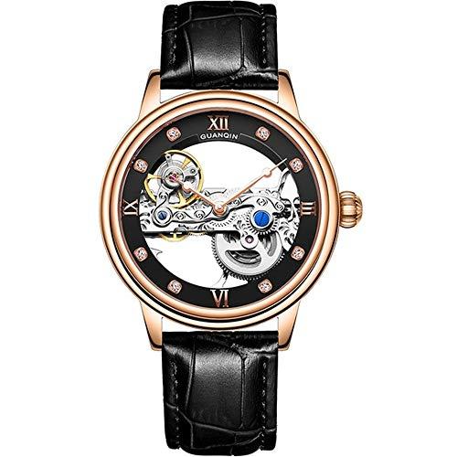 Reloj Esqueleto Hombre Automático Tourbillon Reloj mecánico Impermeable Luminoso Marca Reloj relogio Masculino
