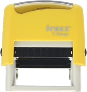 TRAXX T-Printer (ES) Self Inking Stock Text Stamp