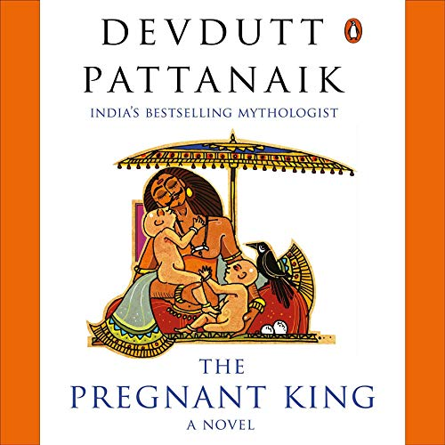 The Pregnant King audiobook cover art