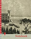 Notebook: Miramar Italy 19th Century