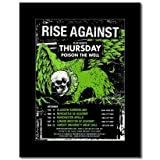 Music Ad World Rise Again UK Tour 2009 Mini-Poster, matt,