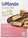 biManán - beSLIM - Sustitutivos para Adelgazar - Barritas Toffee - 10 uds 310 gr