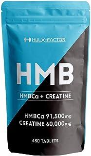HMB クレアチン サプリメント 151500mg ハルクファクター [450粒] タブレット 国産