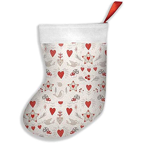 Wheatleya Calcetines navideños escandinavos, calcetines para decoraciones navideñas navideñas