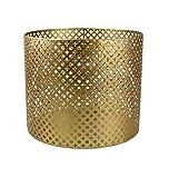 AM-Design Windlicht, Eisen, Gold, 30x30x26 cm