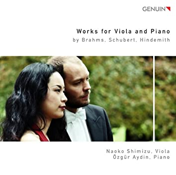Works for Viola and Piano by Brahms, Schubert, Hindemith