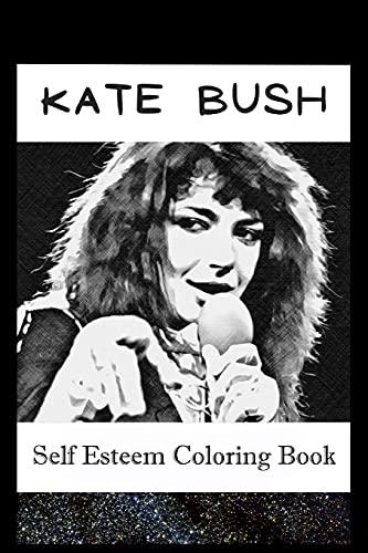 Self Esteem Coloring Book: Kate Bush Inspired Illustrations