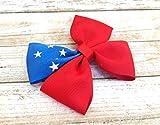 Samoan Flag Hair Bow