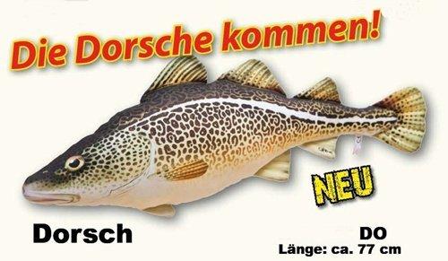 Plüschtier Kuscheltier Fisch Dorsch 77cm by Gaby