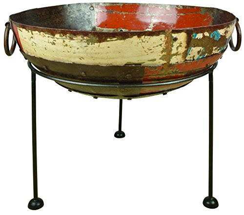 Sale!! Esschert Design FF276 Series Fire Bowl Reclaimed Metal
