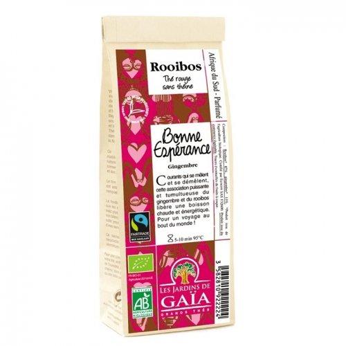 JARDINS DE GAÏA - Bonne espérance (Gingembre) Sachet de 100 g - Rooibos parfumé