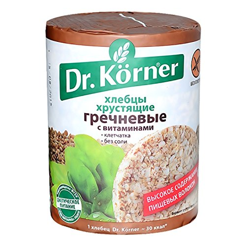 Dr. Korner Buckwheat Crispbread 100g (5-pack)