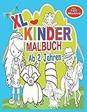 XL Kinder Malbuch ab 2 Jahren: Ein Ausmalbuch für Kinder
