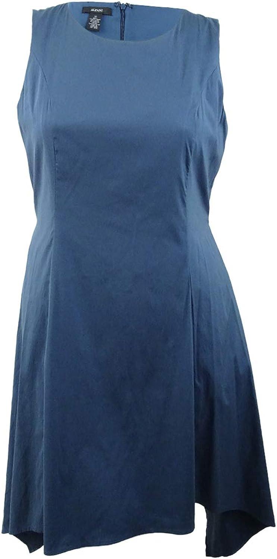 Alfani Sleeveless Asymmetrical Pocket Dress
