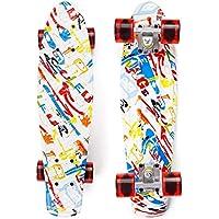 Eyci 22 Inch Mini Cruiser Highly Flexible Complete Skateboard
