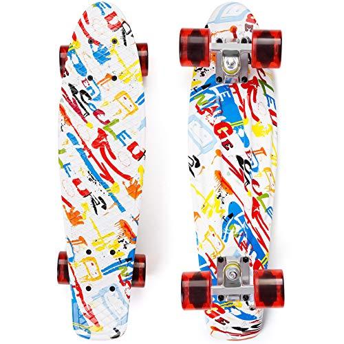 EYCI Skateboard 22×6 in Complete Penny Board