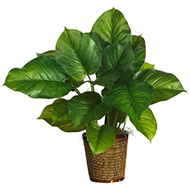 Nearly Natural 29  Large Leaf Philodendron Silk Plant (Real Touch)