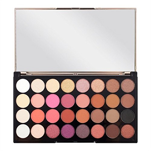Makeup Revolution London Ultra 32 Oogschaduw palet Flawl, 700 g Flawless 4 gemengd