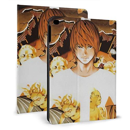Death Note Anime Ipad Case Ipad Mini 4/5 (7.9inch)/Ipad Air 1/2 (9.7inch) Case Thin Smart Stand Back Cover Anti-Finger Auto Wake/Sleep Precise Holes Protective Case