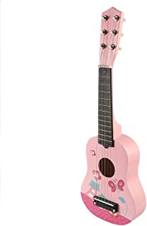 Fcoson Kids Guitar Toy, 23 Inches 6 Strings Wooden Musical Instrument Guitar for Kids Ages 3-5