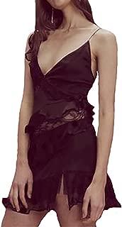 Rosalyn Paneled Tank Dress in Noir