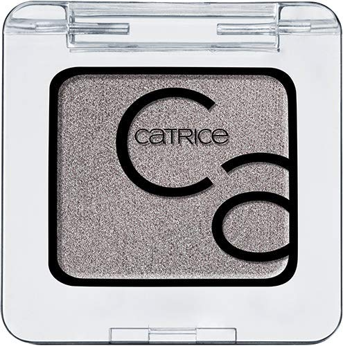 Catrice Art Couleurs Eyeshadow, Lidschatten, Nr. 130 Mr Grey And Me, grau, langanhaltend, metallisch, schimmernd, Nanopartikel frei, entspricht unserem CLEAN BEAUTY Standard, ohne Parfüm (2g)