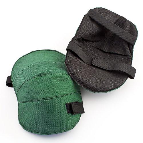 Knieschoner mit Gummizug Knie Polster für den Garten mit Klettverschluss 2-teilig