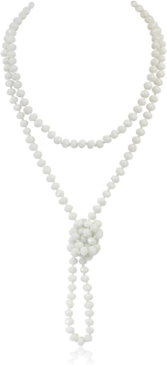 Hand Knotted Beads Austin Mall Endless Long - Excellence Handmade Necklace Statement Ve