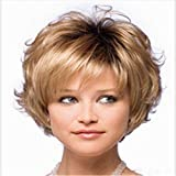 Best GENERIC African American Wigs - Shaggy brown hair Wigs for Women Brown Wig Review