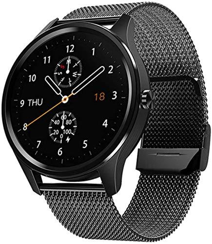 Fitness pulsera hombres s y mujeres s reloj inteligente para Android 2021 nuevo reloj inteligente ejercicio monitor de frecuencia cardíaca impermeable-D